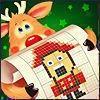 Бесплатная игра Нонограммы. Фабрика Деда Мороза